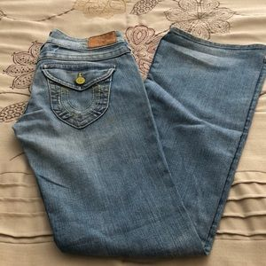 True Religion Size 28 Bellbottoms